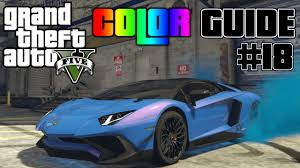 gta v ultimate color guide 18 5 awesome color combinations