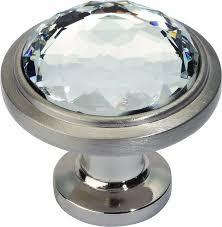 atlas homewares 343 brn legacy crystal brushed nickel 1 3 inch
