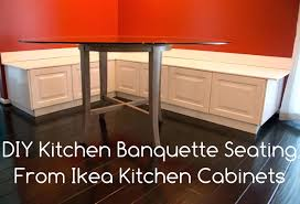 ikea diy kitchen bench or banquette seating lighting for kitchen