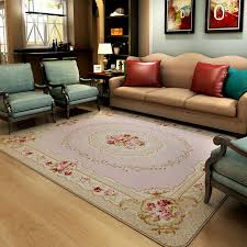 Modern Bedroom Rugs 130x190cm Pastoral Countryside Carpets For Living Room Modern