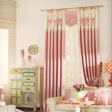 Fabric For Nursery Curtains Nursery Window Table L Pattern Wall Decal Pink