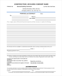 proposal template 8 free word pdf document downloads free