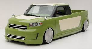 Coolest Toaster Car Reviews Sema 2009 Scion Xb Retro Flavored Pickup Concept