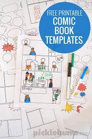 printable blank mini book template free printable comic book templates free printable template and comic