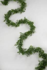 9ft faux boxwood garland garlands wedding and holidays