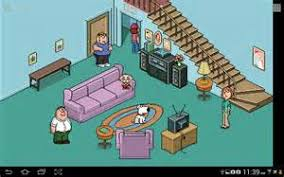 MUGEN My Very Own Family Guy Living Room Stage WIP YouTube - Family guy room
