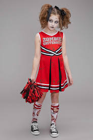 zombie contacts spirit halloween zombie cheerleader costume for girls chasing fireflies