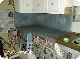 kitchen life love craft kitchen countertop a spray paint affair