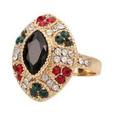cheap unique engagement rings 2016 cheap unique vintage black rings color gold engagement