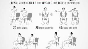 Desk Chair Workout A Full Body Workout You Can Do In Your Office Chair