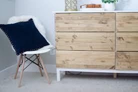 Ikea Bedroom Dresser Diy Bedroom Dresser Ikea Tarva Dresser Hack
