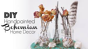 diy hand painted bohemian home decor