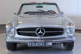 classic mercedes convertible classic 1969 mercedes benz 280 sl pagode cabriolet roadster for