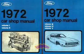 ford ranchero shop service manuals at books4cars com