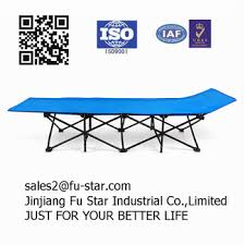 Folding Single Camping Bed Pn 600d Oxford Fabric Heavy Duty High Quality Modern Folding Beach