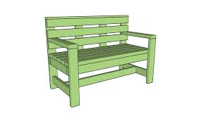 Wood Garden Bench Plans by 2x4 Bench Plans Myoutdoorplans Free Woodworking Plans And