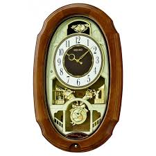 melodies in motion town square musical wall clock qxm479brh