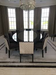 dining room table with low back chairs indiepretty