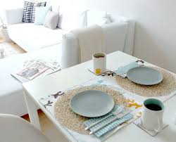 modern table setting interiors design