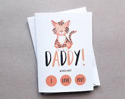 daddy birthday card etsy