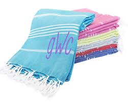personalized turkish towels colors available my