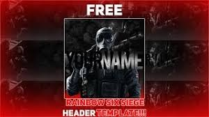 siege social free rainbow six siege social media rev template pack v13