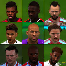 fifa 14 all hairstyles fi xviii converted faces facepack 2 corrected hair hairlod