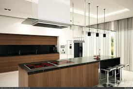 Black And White Kitchen Interior by Modern White Kitchen Cabinets With Black Countertops Cabinet