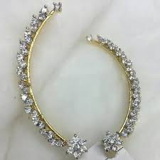 ear cuffs india buy american diamond ear cuffs from p s jewellery new delhi