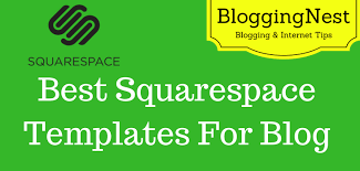 5 best squarespace templates for blogs for personal blogging
