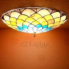 Unique Ceiling Light Fixtures Unique Decorative Tiffany Flush Mount Ceiling Lights