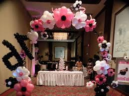 sweet 16 table centerpieces sweet sixteen table decoration ideas decoration image idea