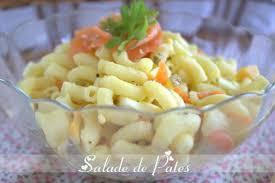 cuisiner facile et rapide salade de pates recette facile et rapide amour de cuisine