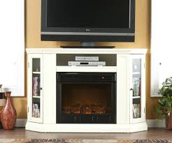 hite ood electric fireplace tv stand big lots sams club small