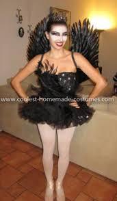 Black Swan Costume Halloween Coolest Black Swan Homemade Costume
