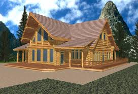 mountain cottage plans mountain homes single story 2680 sq ft classic whistler log