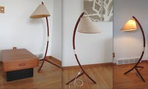 Mid Century Floor Lamp Danish Teak Floor Lamp Collectors Weekly