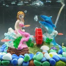 shop new free shipping aquarium ornament mermaid fish tank