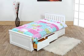 kids captain bed kids beds 3ft pine captains bed with underbed 2 x sprung