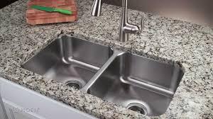 Kitchen Sink Odor Removal by Kitchen Stainless Steel Undermount Sink Kitchen Sink Home Depot