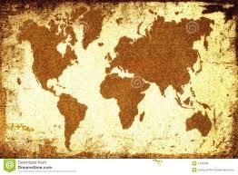 Old World Map Old World Maps Stock Photo Image 15644310