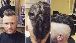 viking warrior hair josh donaldson rocks new viking inspired hairstyle that sort of