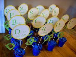 diy baby shower centerpieces for tables decorating of party