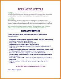 5 persuasive letter format quotation samples