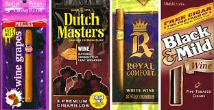 Royal Comfort Cigarillos Alcohol Flavoured Tobacco Products Tobacco Control