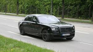 roll royce lego rolls royce ghost production version spied with less coverings