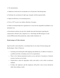 Hr Recruitment Resume Sample by Hr Recruitment