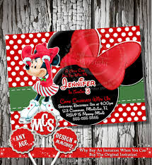 selection minnie mouse invitation birthday