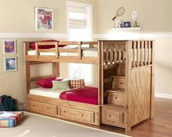 Steps For Bunk Bed Bunk Bed With Steps Chestnut Bunk Bed With Drawer Stairs Storage