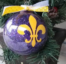 personalized ornaments fleur de lis or other design